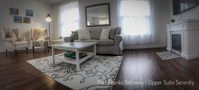 Dreamy Luxury, Cottage Lifestyle - Upper Suite Serenity, Port Franks Getaway