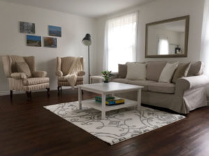 Living Room - Sofa, Wingbacks - Upper Suite Serenity, Port Franks