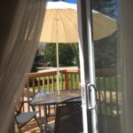 Romantic Studio Cottage Deck from Inside