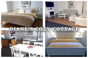 Post Card - Diane's Cozy Cottage, Port Franks, Ontario, Canada
