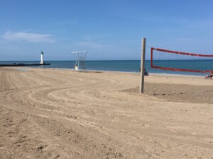 A very quiet Grand Bend Beach after Labour Day Weekend, Ontario, Canada - secret tips