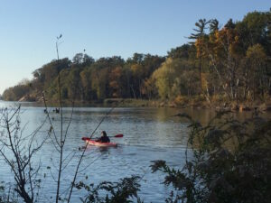 Kayaking the Ausable River - peace and tranquility, Port Franks Getaway