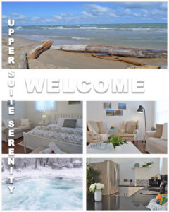 Welcome to the Upper Suite Serenity vacation apartment in Port Franks Getaway - an adults only spa retreat