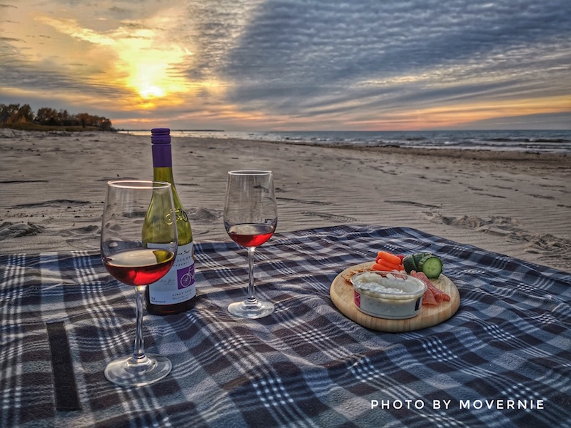 Beach Picnic at one of 3 area beaches