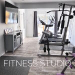 Fitness Studio - Elliptical, Treadmill, Weights, Yoga, Pilates / Pilates Chair and more